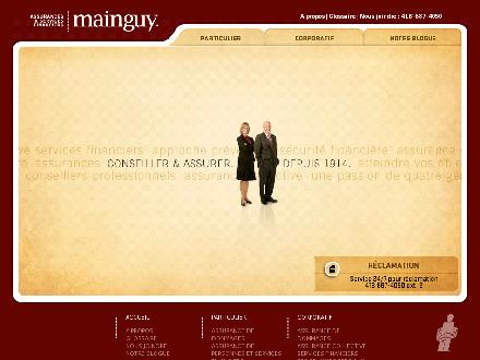 Assurances Mainguy et Services Financiers (581-700-1420) - Website thumbnail - http://www.jamainguy.com