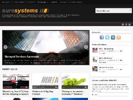 Sure Systems Ltd (403-539-9688) - Onglet de site Web - http://www.suresystems.ca