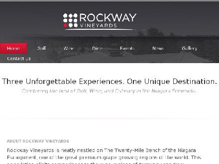 Rockway Glen Golf Course & Winery (905-641-1030) - Website thumbnail - http://www.rockwayglen.com