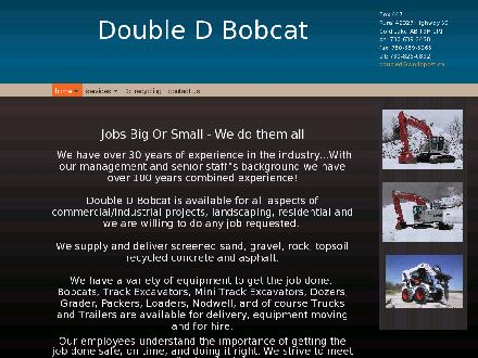 Double D Bobcat Services & Contracting Ltd (780-639-0711) - Website thumbnail - http://www.doubledbobcat.com