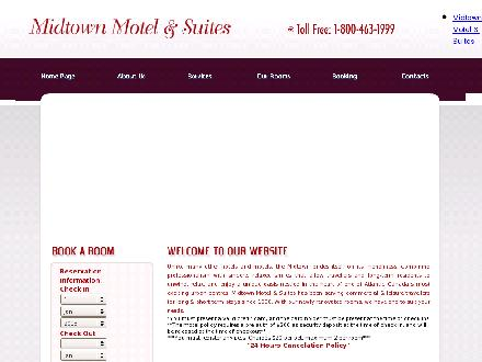 Midtown Motel & Suites (506-388-5000) - Website thumbnail - http://www.midtownmotelandsuites.ca