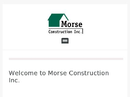 Morse Construction Inc (902-681-3970) - Onglet de site Web - http://www.morseconstruction.com