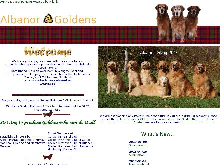 Albanor Boarding Kennels (613-528-4929) - Website thumbnail - http://www.albanor.com