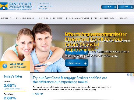 East Coast Mortgage Brokers (709-754-0422) - Website thumbnail - http://www.ecmb.ca