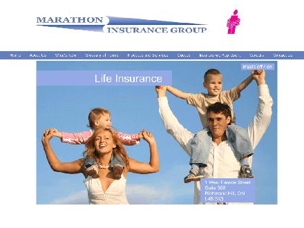 Marathon Insurance Group (905-707-0084) - Onglet de site Web - http://www.marathoninsurance.ca