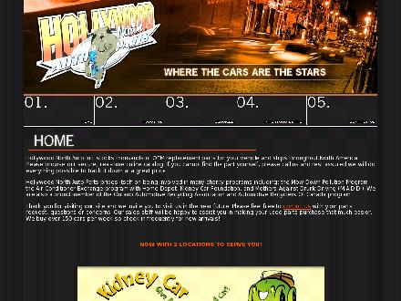 Hollywood North Auto Parts Inc (705-487-1888) - Website thumbnail - http://www.hollywoodnorthauto.com