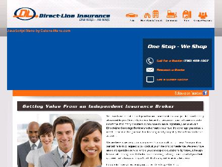 Direct-Line Insurance Inc (780-412-1774) - Onglet de site Web - http://www.directlineins.net