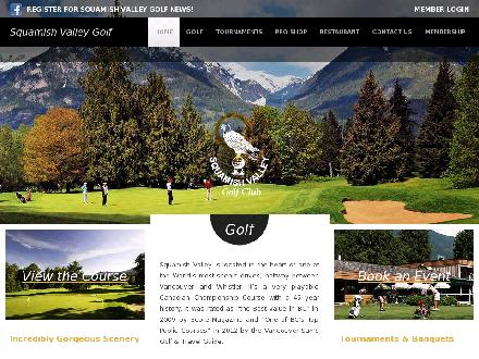 Squamish Valley Golf Club (604-898-9691) - Onglet de site Web - http://www.squamishvalleygolf.com