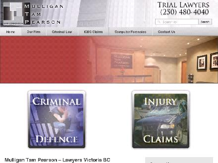 Mulligan Tam Pearson Law Corp (250-480-4040) - Onglet de site Web - http://www.mtplaw.com