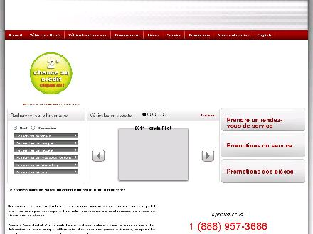 Concessionnaire Honda de St-Jean (450-347-7567) - Onglet de site Web - http://www.hondasaintjean.com