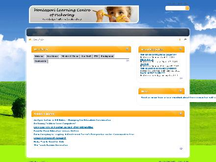 Montessori Learning Centre (905-509-1722) - Website thumbnail - http://www.mlcp.ca