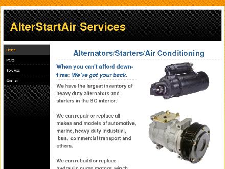 Alterstartair (250-851-7665) - Onglet de site Web - http://www.alterstartair.com