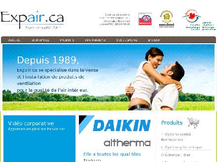 Expair.ca (581-317-0037) - Website thumbnail - http://www.expair.ca