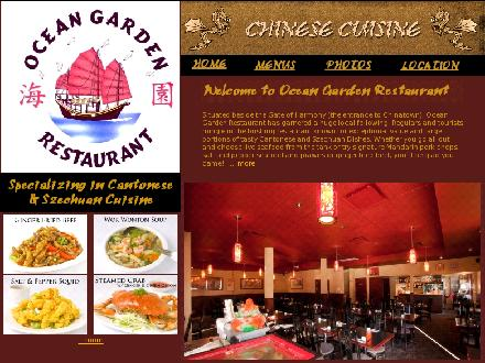 Ocean Garden Restaurant (250-360-2818) - Onglet de site Web - http://www.oceangardenrestaurant.com