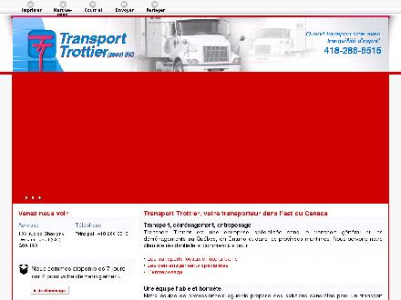 Transport Trottier (2000) Inc (418-286-6515) - Website thumbnail - http://transporttrottier.com