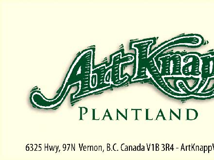 Art Knapp Plantland (250-542-8881) - Onglet de site Web - http://www.artknappvernon.com