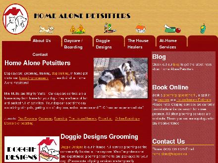 Home Alone Pet Sitters (905-336-1025) - Website thumbnail - http://www.homealonepetsitters.ca