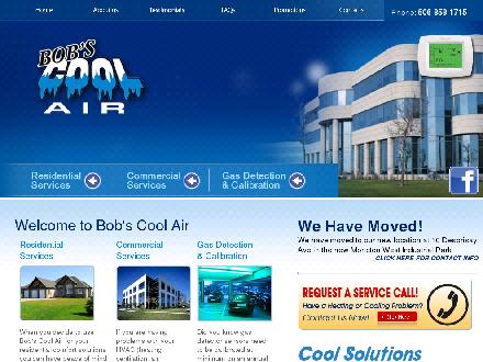 Bob's Cool Air Inc (506-858-1715) - Website thumbnail - http://www.bobscoolair.ca