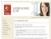 Clinique De Vinci Inc (418-650-3109) - Website thumbnail - http://www.cliniquedevinci.com
