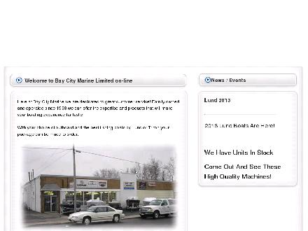 Bay City Marine (905-574-1222) - Website thumbnail - http://www.baycitymarine.ca
