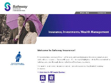 Safeway Insurance & Financial Services (416-226-4913) - Onglet de site Web - http://www.safewayinsure.com