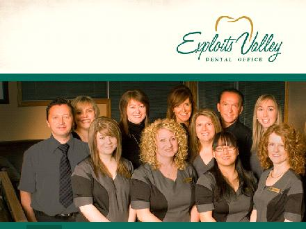 Exploits Valley Dental Office (1-888-247-2459) - Onglet de site Web - http://www.nicesmile.ca