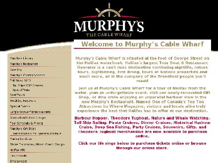 Murphy's The Cable Wharf (902-420-1015) - Website thumbnail - http://www.mtcw.ca