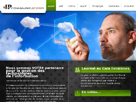 IP Communications (450-499-0153) - Onglet de site Web - http://www.ipcommunications.ca