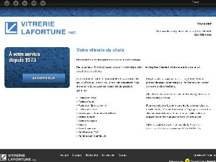 Vitrerie Lafortune Inc (450-755-1444) - Onglet de site Web - http://vitrerielafortune.ca/