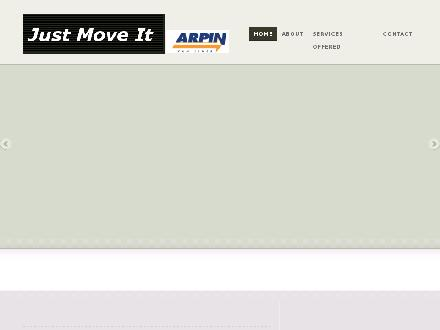 Jmi Moving & Storage Ltd (819-772-0738) - Onglet de site Web - http://www.justmoveit.ca