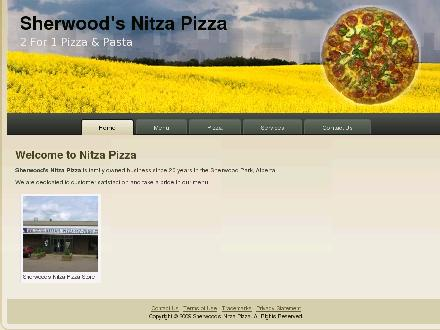 Nitza's Pizza 2 For 1 (780-410-8905) - Onglet de site Web - http://www.nitzapizza.com