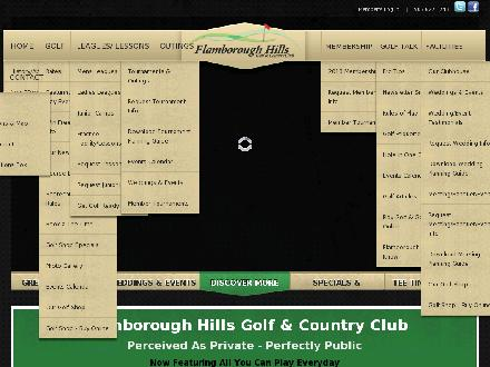 Flamborough Hills Golf & Country Club (905-627-1743) - Website thumbnail - http://www.flamboroughhills.com