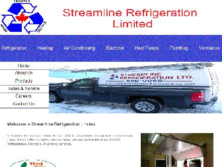 Streamline Refrigeration Ltd (902-562-9868) - Website thumbnail - http://www.streamlinerefrigerationlimited.com