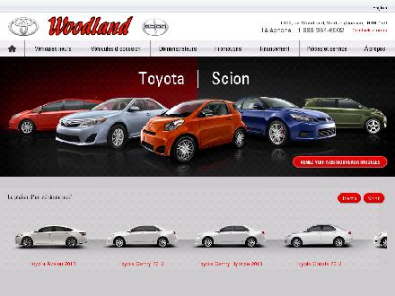 Woodland Verdun (Toyota) Lt&eacute;e (514-761-3444) - Website thumbnail - http://www.woodlandtoyota.com
