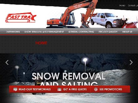 Fast Trac Bobcat &amp; Excavating Service (604-685-8778) - Onglet de site Web - http://www.fast-trac.ca
