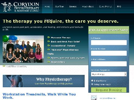 Corydon Physiotherapy &amp; Massage Clinic (204-272-9755) - Website thumbnail - http://www.corydonphysiotherapy.com
