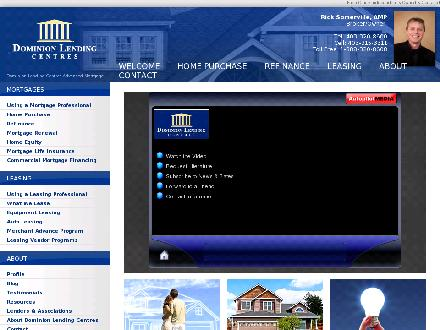 Advanced Mortgage Inc (403-332-6149) - Onglet de site Web - http://www.ricksomerville.com