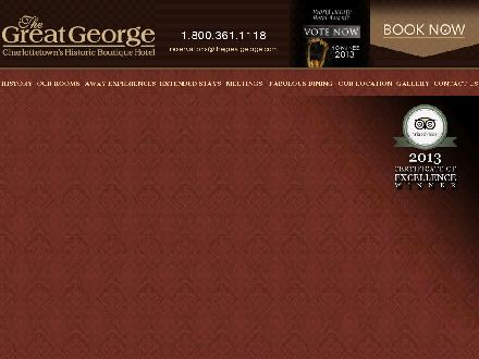 The Great George Hotel (902-892-0606) - Onglet de site Web - http://www.thegreatgeorge.com/