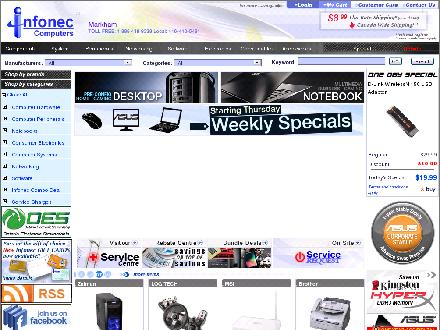 Infonec.com - Onglet de site Web - http://www.infonec.com