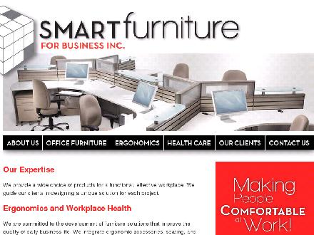 Smartfurniture For Business Inc (204-927-4450) - Onglet de site Web - http://www.smartfurniture.ca