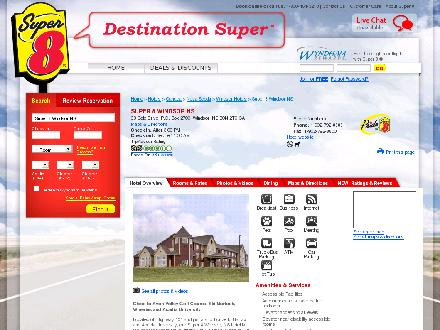 Super 8 Windsor (1-888-239-9745) - Onglet de site Web - http://www.super8windsorns.com