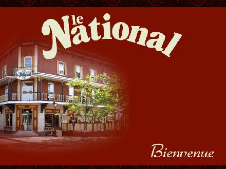 Auberge National Enr (L') (450-390-9840) - Website thumbnail - http://www.aubergelenational.com