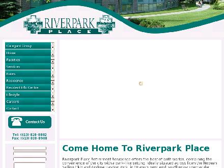 Riverpark Place Retirement Residence (613-828-8882) - Website thumbnail - http://www.riverparkplace.ca