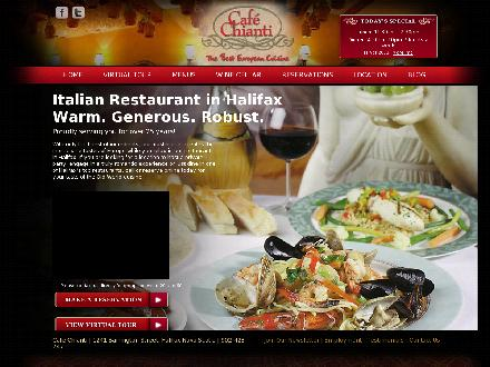 Cafe Chianti (902-704-2945) - Onglet de site Web - http://www.cafechianti.ca