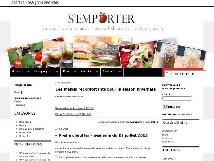 S'emporter (450-712-4983) - Website thumbnail - http://www.semporter.com