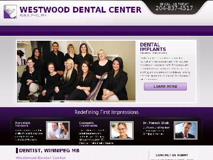Westwood Dental Center (204-837-4517) - Website thumbnail - http://www.westwooddental.com