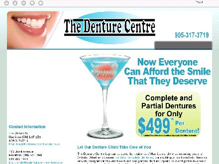 Denture Centre The (289-799-1371) - Website thumbnail - http://thedenturecentreontario.ca/