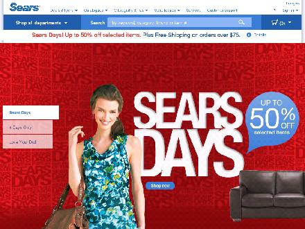 Sears Canada Inc (204-338-4621) - Onglet de site Web - http://www.sears.ca
