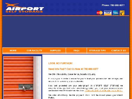 Storage Vault Canada Inc (519-659-9423) - Website thumbnail - http://www.airportselfstorage.ca