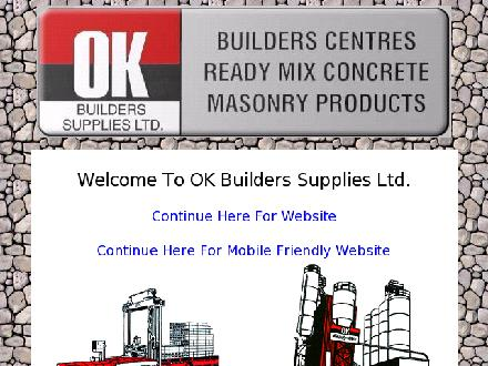 O K Builders Supplies Ltd (250-492-7000) - Website thumbnail - http://www.okbuilders.ca